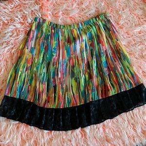 Prabal Gurung for Target silk & lace circle skirt